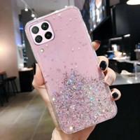 Samsung Galaxy A12 Soft Case Tpu Bahan Premium Glitter Glossy
