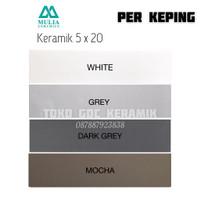 KERAMIK DINDING 5x20/LIST KERAMIK 5x20/PLINT LIST KERAMIK 5x20