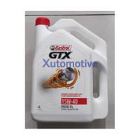Castrol GTX 15W-40, 4liter, Oli mobil bensin.