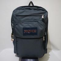 Tas Ransel Jansport Big Student Deep Grey Backpack ( Original Bag )
