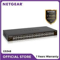 Netgear GS348 48 Port Gigabit Ethernet Unmanaged Garansi 1 tahun