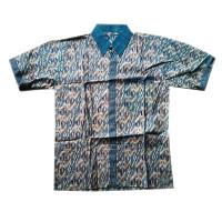 Kemeja Batik   Baju Batik Pria Motif Wayang Sumbada