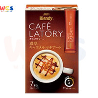 AGF Blendy Cafe Latory Stick Rich Caramel Macchiato 7p x 10.9g