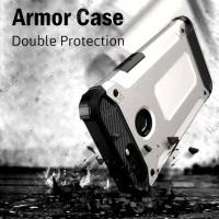 ASUS Zenfone Max Pro M2 Spigen Armor Iron Shock Hard Soft Case Casing