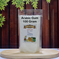 Arabic Gum Powder / Gom Arab / Gum Arab repack 100 gram