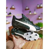(REAL PICT) Sepatu sepak bola puma evospeed hitam komponen original