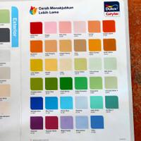 cat dulux catylac interior 5kg komplit semua warna