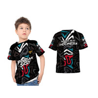 Baju Kaos Anak Pencak Silat Indonesia 003 Fullprint Sublime
