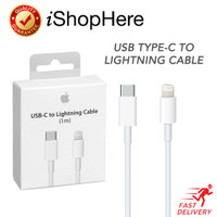 Kabel Charger Data Lightning to USB Type C Cable iPhone Original Apple