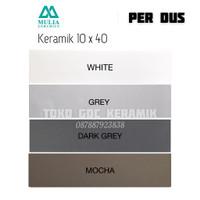 KERAMIK DINDING 10x40/LIST KERAMIK 10x40/PLINT KERAMIK LANTAI 10x40