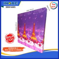 Kasur Busa Inoac Ukuran 200X160X5 CM / Inoac Asli Nomor 2 Tebal 5 CM