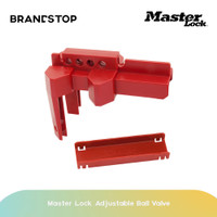 Peralatan LOTO Adjustable Ball Valve Master Lock S3081D