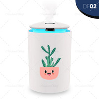 Aromatherapy Diffuser Humidifier RGB LED Include Aroma Essential Oil - DF02, 3ml