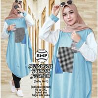 AP Minoru tunic jumbo,baju atasan blouse wanita fashion muslim terbaru