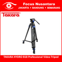 TAKARA HYDRO B18 Professional Video Tripod