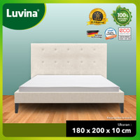 Luvina Matras Kesehatan Natural Latex - Ukuran : 180x200x10cm - Latex