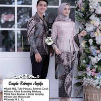 Batik couple keluarga kebaya gamis - M