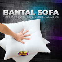 Bantal Sofa / Bantal Kursi tamu 40 x 40 cm