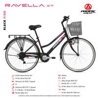 """Sepeda CTB / MINI PACIFIC 26"""" RAVELLA XT - STEEL"""