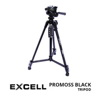Tripod Excell Promoss Black For Mirroless, Hp