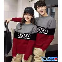 Sweater Baju Pasangan Kapel Berdua Pria Wanita Samaan Pasangan