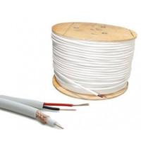 kabel rg59 + power rg 59 cctv, antena, satelit
