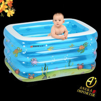 Kolam Renang Baby Spa Anak Intime Kotak / Inflatable Pool
