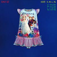 (DA2-1Z) Daster Anak Frozen II Beautiful Dream Usia 5-9 Tahun