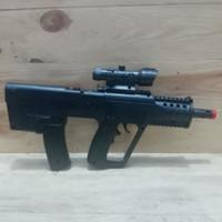 model gun replika styer aug pubg fortnite bb 6 mm ruber bullet