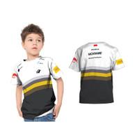 2S5 - Baju Kaos Tshirt Anak Jersey Gaming Onic Esport Fullprint Custom