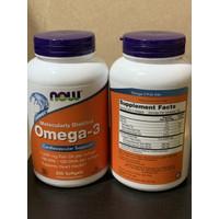 NOW FOOD MOLECULARLY DISTILLED OMEGA 3 Cardiovascular-200 Softgel/ Ori