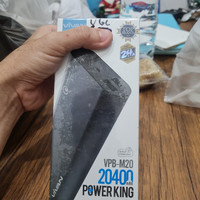 power bank vivan vpb m20 20400mah