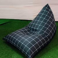 Sofa Bean Bag Triangel Motif ( Small )
