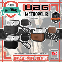 Case Apple AirPods Pro UAG Metropolis Leather Fiber Original Casing