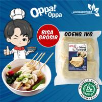 Oppa Odeng Oden Eomuk Korea Fish Cake 1kg Halal