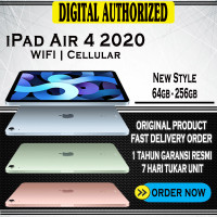 New iPad Air 2020 64 GB 10.9 WIFI 64GB Cellular Blue Green Gray Gold