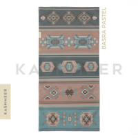 Sajadah Travel Kashmeer Water Repellent - Basra Pastel