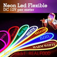 Lampu LED Neon FLex LED Strip Flexibel DC 12V IP65