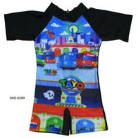 Baju Renang Bayi Karakter Tayo-K089