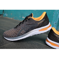 Sepatu Running Original Asics Gel Cumulus carrier grey black bnwb size