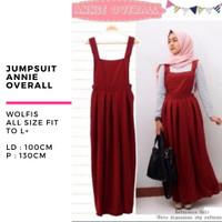 Baju wanita jumpsuit playsuit overall annie murah terbaru