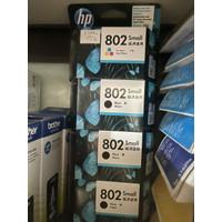 Catridge (Tinta) HP 802 Color (warna) dan Black (hitam)