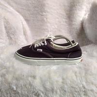 Sepatu Vans authentic era black white