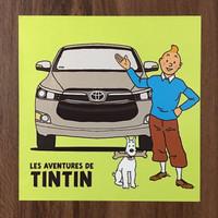 Sticker Toyota Kijang Innova Reborn x Tintin - Artbox Edition 4
