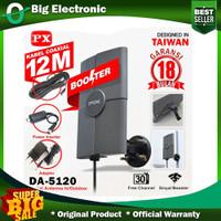 Antene Tv Digital Analog Indoor Outdoor PX DA 5120 Fee Kabel Antena