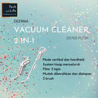 Deerma Penyedot Debu Handheld Rotary Vacuum Cleaner - DX700 - Putih