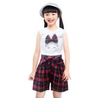 Two Mix Setelan Baju Anak Perempuan Fashion Korea Usia 1-7 tahun 4107