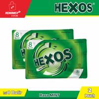 Hexos Mint isi 8 butir (2 pouch)