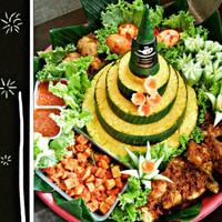 PROMO Tumpeng Nasi Kuning 15 orang