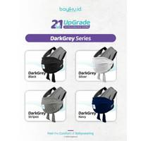 Baby Wrap 2in1 Upgrade plus Sashbelt - Instant BabyWrap Bayiku - Abu